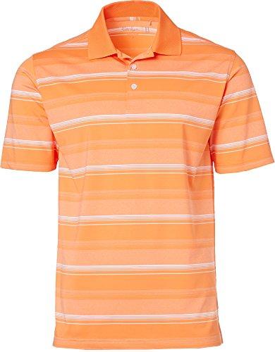 Walter HagenメンズポートTonal Stripe Golf Polo