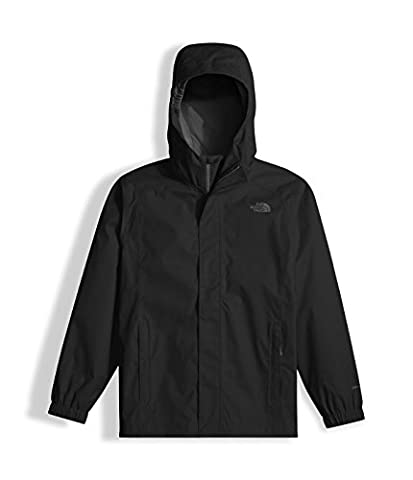 The North Face Boy's Resolve Reflective Jacket TNF Black Small