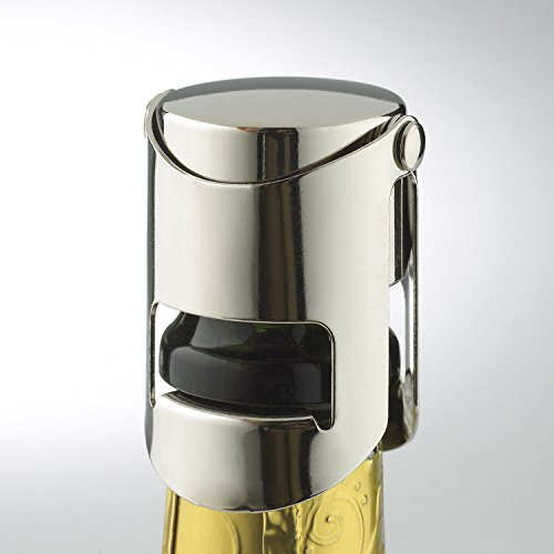 Wine Enthusiast Champagne Preservation Recorker, Chrome