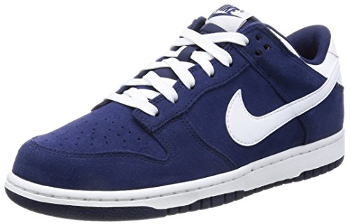 Binary Men's NIKE Skate White Low Pro Dunk Blue Shoe qBYxwTzY