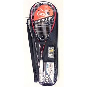 Amazon.com : DUNLOP Fusion Graphite Squash Pack : Sports ...