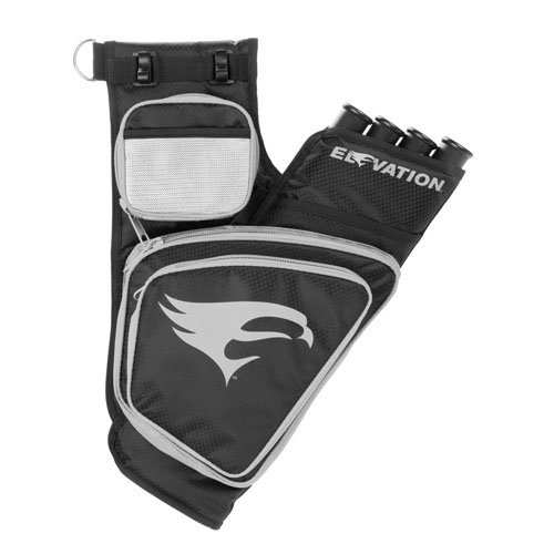 Elevation Transition Quiver, Black/Silver, 4-Tube, Right Hand