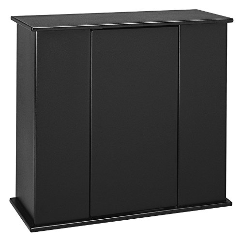 Aquatic Fundamentals Black Upright Aquarium Stand - for 29 and 37 Gallon Aquariums, 31.37 IN by Aquatic Fundamentals
