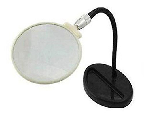 (5X Flexable Neck Stand Table Magnifer Magnifying Glass)