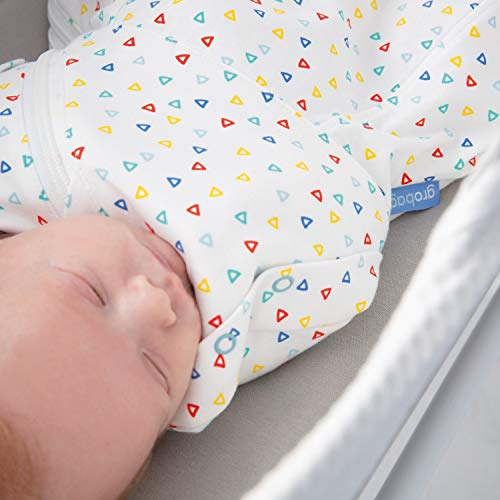 Talking Turtles Gro-Snug 2-in-1 Swaddle and Grobag Light Hip-Healthy Newborn