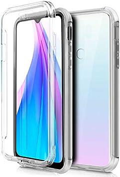 Mb Accesorios XIAOMI Redmi Note 8T Funda DE Silicona Delantera + Trasera Doble 100% Transparente
