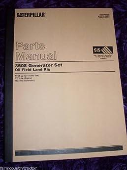 caterpillar 3508 generator set oem parts manual caterpillar 3508 rh amazon com Caterpillar 3508 Generator Specs Caterpillar 3508 Engine