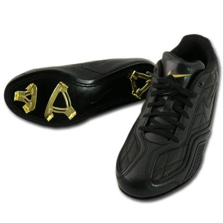 Nike Men's Force Zoom Trout 5 Metal Baseball Cleats (9, Grey/Black) by Nike (Image #3)