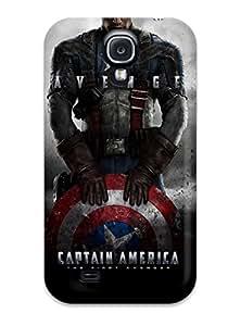 Lucila Cruz-Rodrigues's Shop Pretty Galaxy S4 Case Cover/ Captain America Series High Quality Case