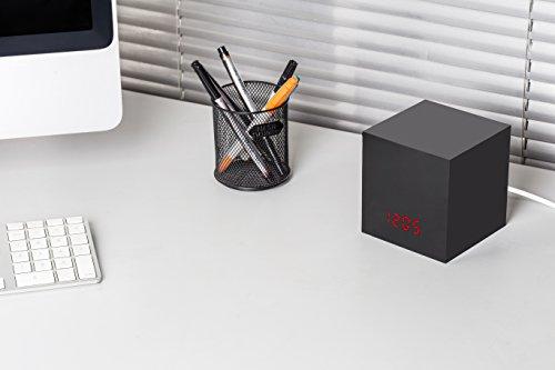 Caja negra con reloj para esconder tu cámara de vigilancia Nest Cam/Dropcam y convertirla en una cámara espía: Amazon.es: Electrónica