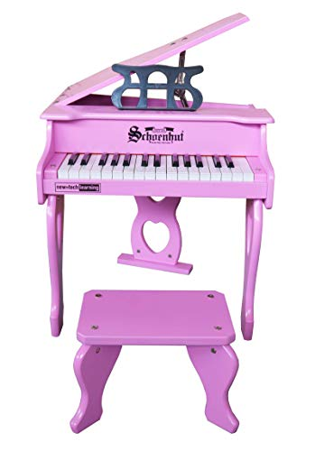 Schoenhut 3017P 30 Key Digital Baby Grand Toy Piano - Pink