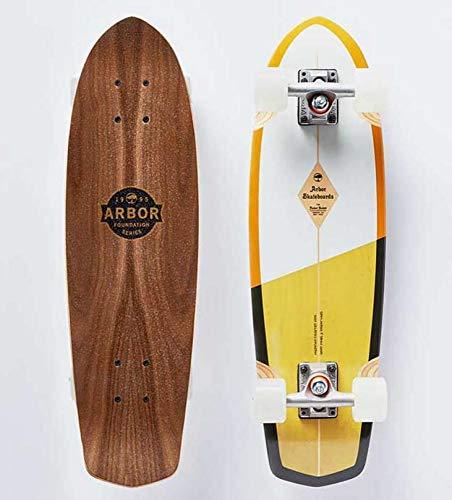 lordofbrands Skate Skateboard Longboard Arbor Foundation Pocket Rocket 27 ()