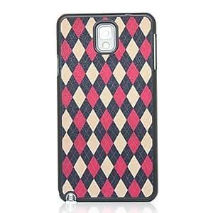 WQQ Samsung Galaxy Note 3 compatible Special Design Plastic Back Cover
