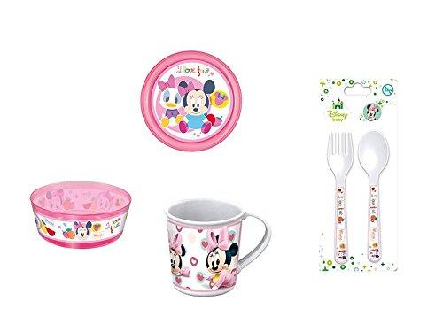 Disney Minnie Mouse baby, 0062, Vajilla infantil baby apta para ...