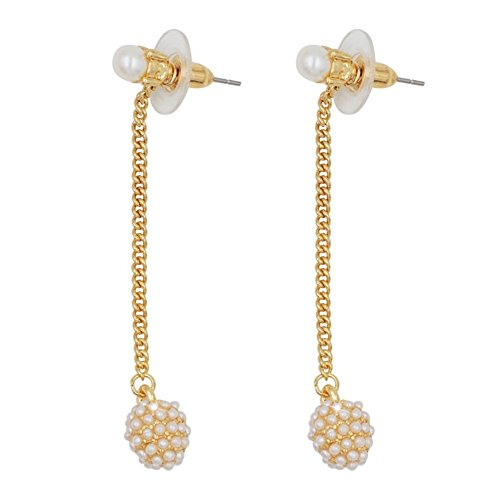 Homemade Gypsy Costumes Ideas For Kids (ER1200012C2 Fashionable Pearl Folk-Custom Geometric Earring)