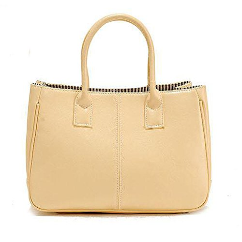À DELEY Top Bag Dames Mode Féminine Design Bureau Sac Business Jaune Simple Main Handle qzwUzxXTr