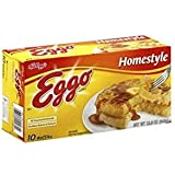 Pack familiar de waffles Eggo Homestyle, 24 unidades ...