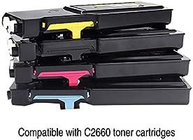 Cartucho de tonerAdecuado para Dellc2660 Caja Compacta ...