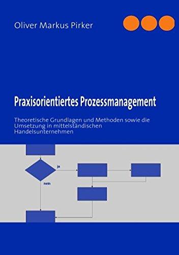 Praxisorientiertes Prozessmanagement: Theoretische Grundlagen und Methoden sowie die Umsetzung in mittelständischen Handelsunternehmen
