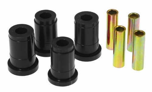 Prothane 6-205-BL Black Front Control Arm Bushing Kit (Bushings Mustang Arm Control Front)