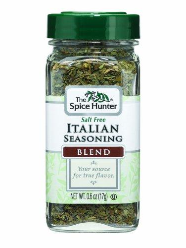 The Spice Hunter Italian Seasoning Blend, 0.6-Ounce Jars (Pack of 6)