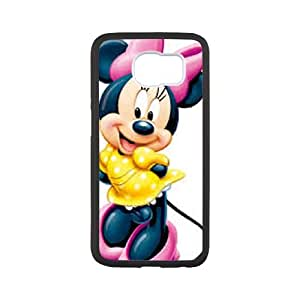 Disney Mickey Mouse Minnie Mouse Samsung Galaxy S6 Cell Phone Case Black WON6189218018169