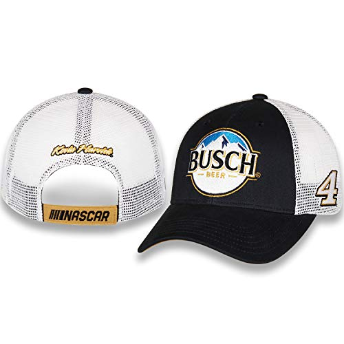 Checkered Flag Kevin Harvick 2019 Busch Draft Mesh NASCAR Hat Blue, ()