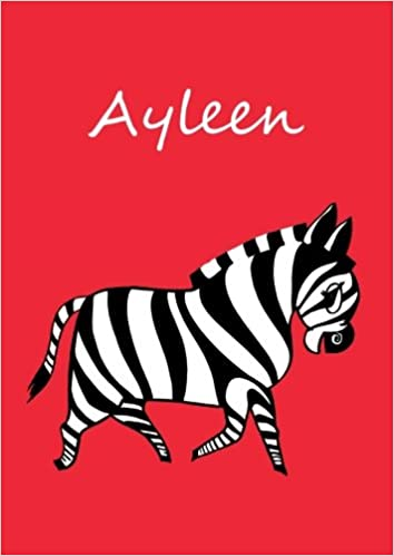 Malbuch/Notizbuch/Tagebuch Ayleen DIN A4 blanko