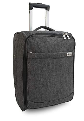 i360® InTravel - Equipaje de Mano con Ruedas para líneas aéreas Easyjet Ryanair, British Airways, Virgin, Flybe, Jet 2 y Muchas Otras