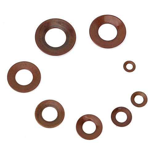 1 Box of Disc Spring 8 Types Steel Disc Washer Compact Device for Clutches, Safety -