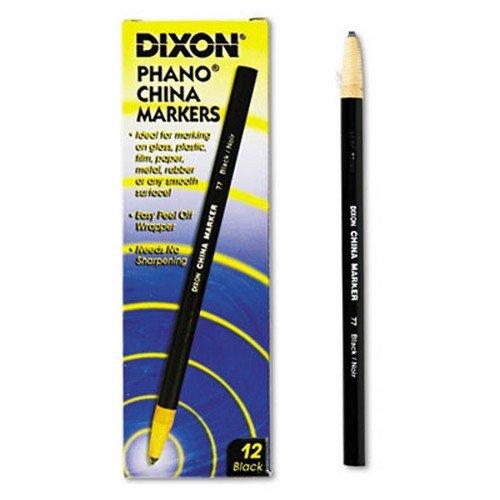 * China Marker, Black, Dozen