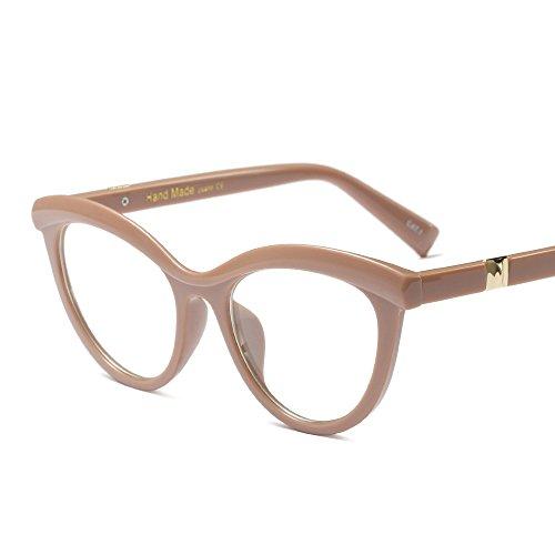 Cat Stereo Cutting Eye Glasses Men Women Full Frame Myopia Prescription Eyewear