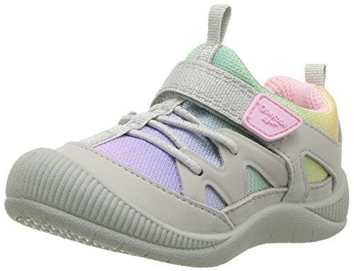 OshKosh B'Gosh Abis Girl's Protective Bumptoe Sneaker, Multi Color 8 M US Toddler from OshKosh B'Gosh