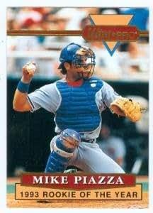 Amazon.com: Mike Piazza baseball card (Los Angeles Dodgers