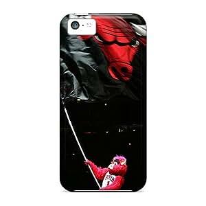 New Arrival Premium 5c Case Cover For Iphone (chicago Bulls)