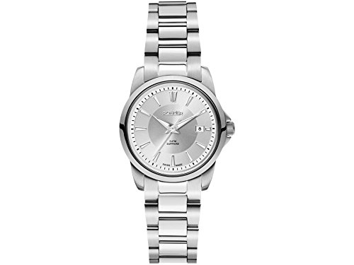 Roamer Ares Women's Quartz Watch with Silver Dial Analogue Display and Silver Stainless Steel Bracelet 730844 41 15 70