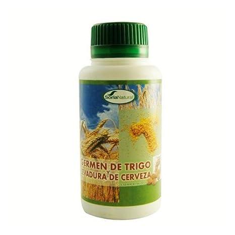 Soria Natural Levadura de Cerveza y Germen de Trigo 500 Comprimidos de 400 mg: Amazon.es: Salud y cuidado personal