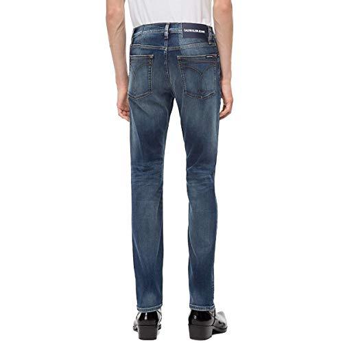 Ckj Slim Uomo 026 Mickey Blue 911 Klein J30j308319 Jeans Calvin qwfEBx