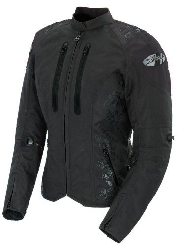 (Joe Rocket Atomic 4.0 Women's Textile Riding Jacket (Black, Medium))