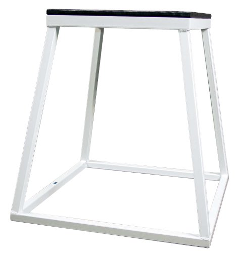 Plyometric Platform Box Set- 12'',18'',24'' White by Ader Sporting Goods (Image #3)