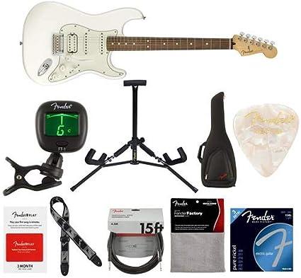 Guitarra eléctrica Fender Player Stratocaster HSS 22 trastes ...