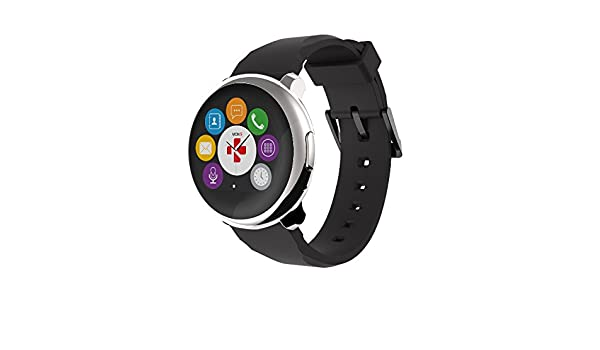MyKronoz krzeround - Silver/Black Smart Watch: Mykronoz ...