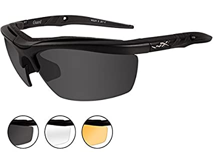 Amazon.com  Wiley X Guard Sunglasses 236152b9f6
