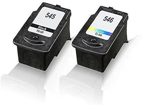 2 x cartuchos de tinta compatibles para Canon PG545 CL546 Pixma ...