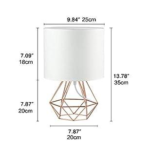 Frideko Modern Table Lamp, Dia...
