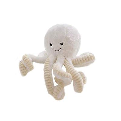 RMXMY Almohada for muñecas Simulación Linda Pulpo Juguete de Peluche Bebé Muñeca for Dormir Chica Corazón Opcional ( Color : E , Size : 80cm ): Juguetes y juegos