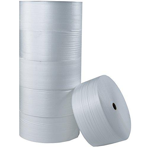 Aviditi FW1848 Polyethylene Air Foam Roll, 550' Length x 48