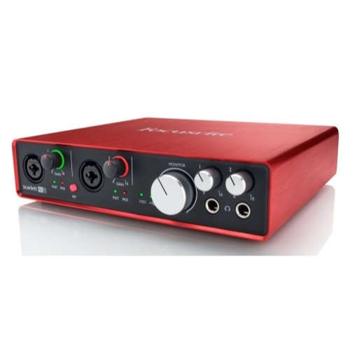 Focusrite Scarlett 6i6 Second Generation (2nd Gen) 6 In/6 Out USB 2.0 Audio Interface with Pro Tools   First and 1 Year Free Extended Warranty (Focusrite Saffire Pro 24 Dsp Firewire Audio Interface)