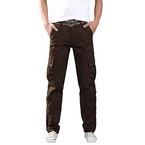 Lunghe Maniche Slim Base Uomo A Da Pantaloni Elasticizzati Uomo Lunghe Fit Di Design Kaffee qvCTTPw