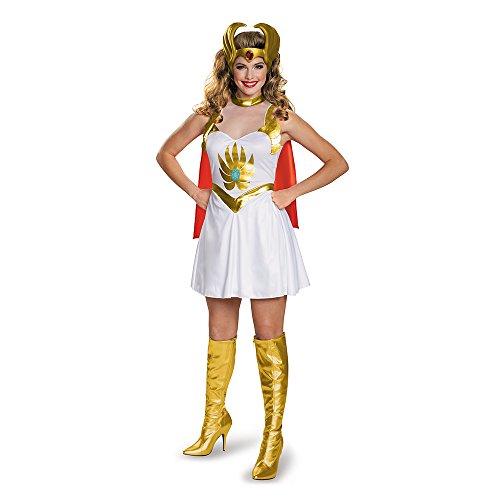 Women's She-Ra 80s Cartoon Character Classic Costume